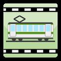 ピクチャービューアー(東京 JR山手線改札) logo