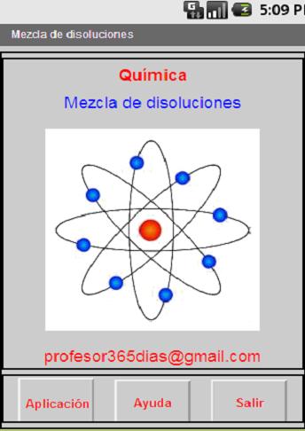 Química.Mezcla de disoluciones