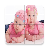 Twins Babies Puzzle