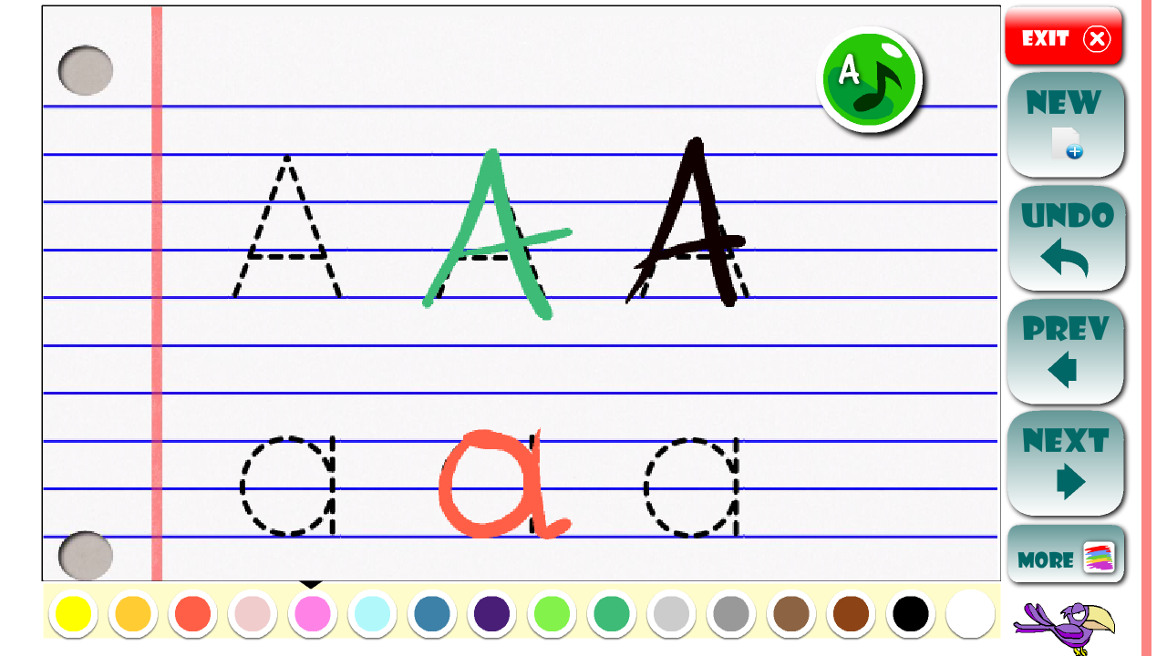 ABC Learning letters toddlers- screenshot