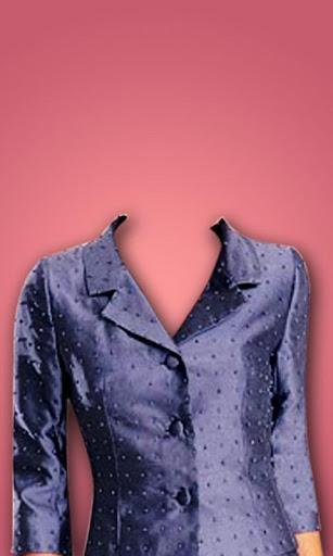 Office Woman Suit Photo Maker