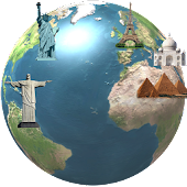 World Wonders Location Map GPS