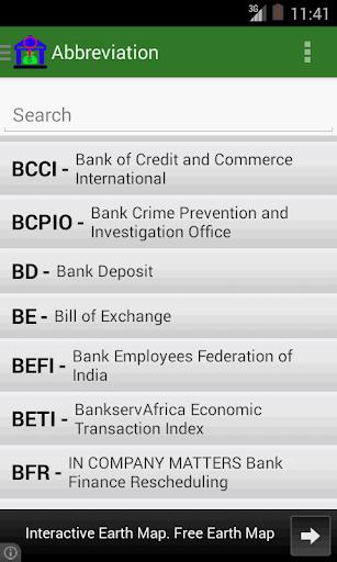 Bank Abbreviation