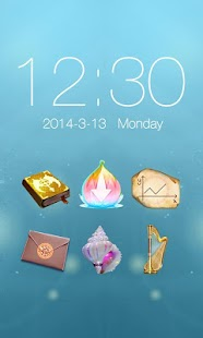 Era of light_Turbo EX Theme - screenshot thumbnail