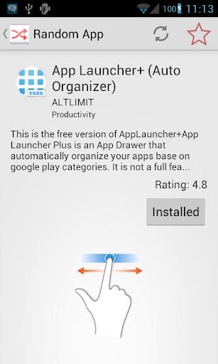 Random App Apps Discovery