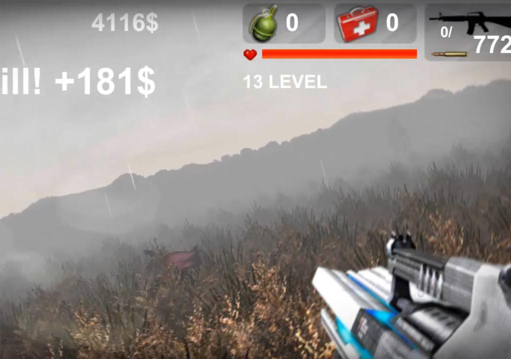 Invasion zombie apocalypse - screenshot
