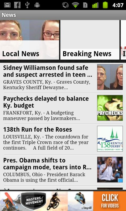 WPSD Local 6 - screenshot