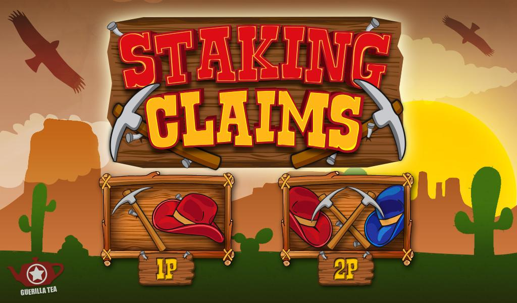 Staking Claims- screenshot