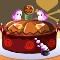 Haunted Halloween Cake Maker logo