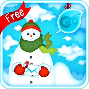 Free Apk android  GO Keyboard Snowman Theme 1.0  free updated on