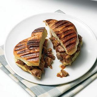 Chinese Roast Pork Panini.