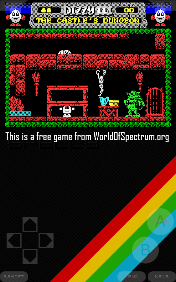 Speccy - Sinclair ZX Emulator- screenshot