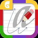 筆記体のアルファベット icon