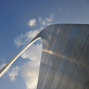 Arch by Austin Lawler - Buildings & Architecture Statues & Monuments ( sky, arch, iconic, metal, monument, st. louis, architecture, stl,  )