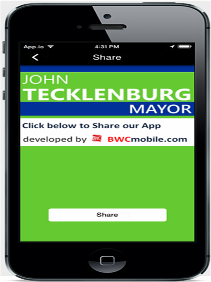 John Tecklenburg for Mayor- screenshot