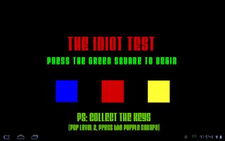Screenshot of Idiot Test