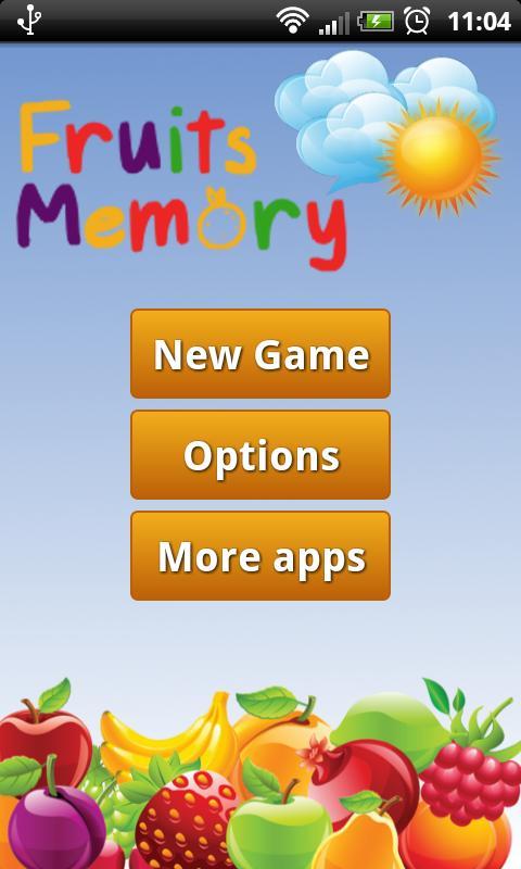 Fruit Memory Game for Kids- screenshot