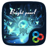 Bright Pearl GO Launcher Theme