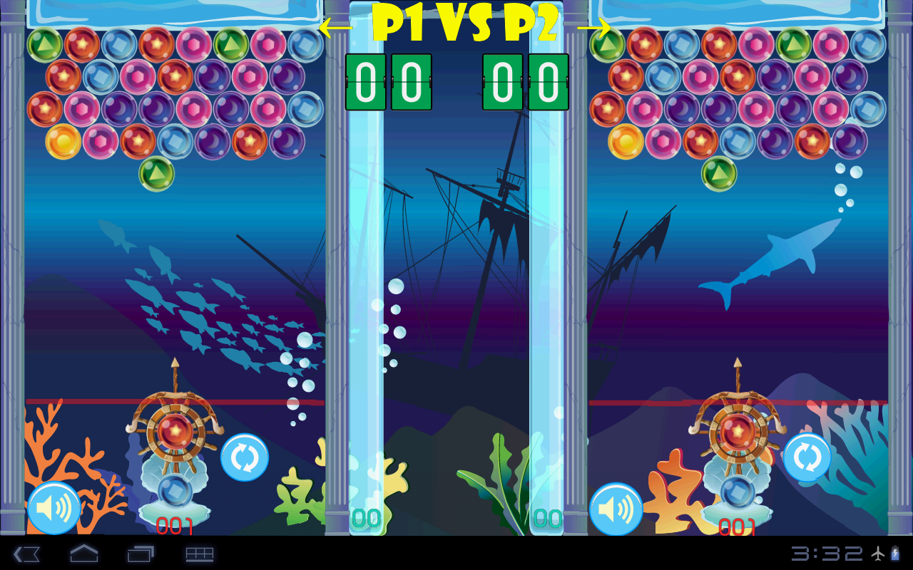 (HD) Ocean Bubble Shooter - screenshot