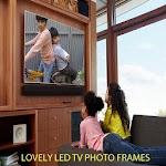 Lovely LED TV Photo Frames