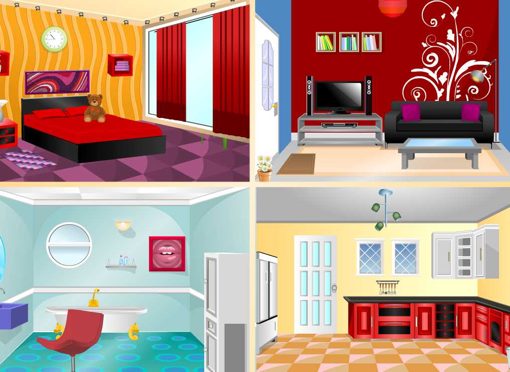 dream home decoration game screenshot - House Decorating Games