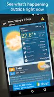 Screenshot of Weatherzone