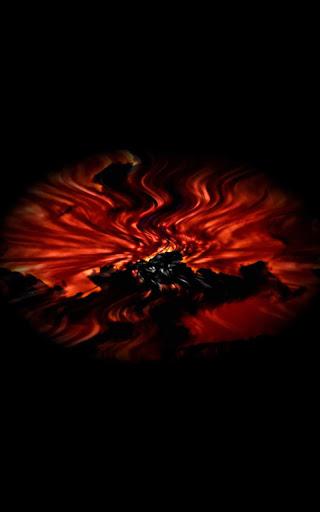 Fire Flower Live Wallpaper