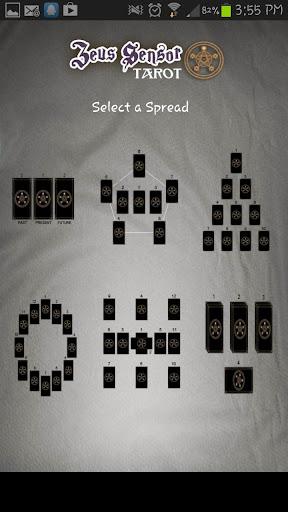 Zeus Sensor Tarot