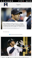 Screenshot of MLive.com: Detroit Tigers News