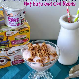 Cinnamon Pecan Skillet Granola Yogurt Parfait Recipe with Yoplait Kids