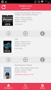 OneClickdigital eAudio Player- screenshot thumbnail