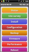 Screenshot of EasyUbnt