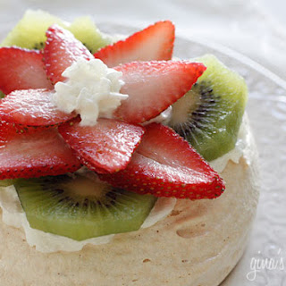 Strawberry Kiwi Pavlovas.