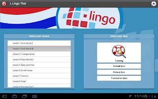 Screenshot of Z_L-Lingo Learn Thai HD
