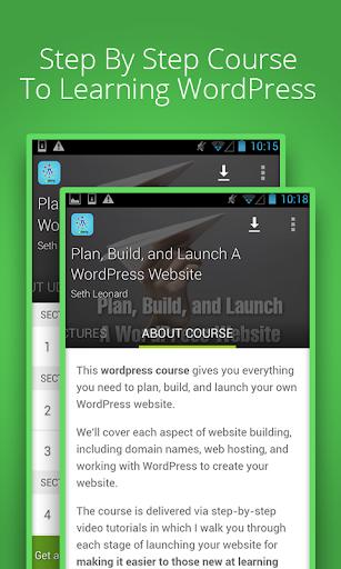 Learn wordpress free by Udemy