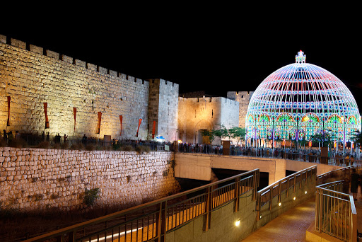 festival-light-Jerusalem-Israel - The Jerusalem Festival of Light offers dozens of installations and displays throughout the Old City.