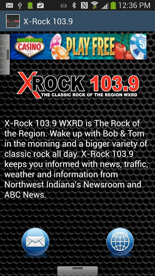 X-Rock 103.9 - screenshot