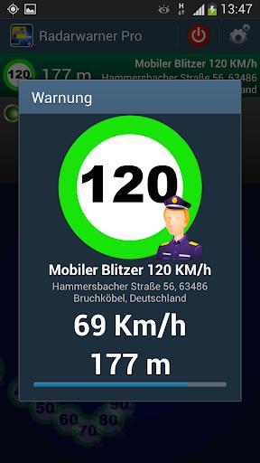 Radarwarner Pro - Blitzer DE