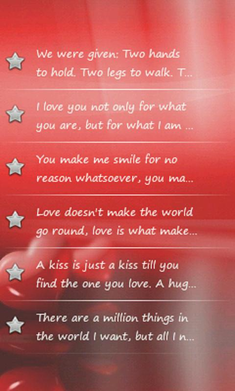 Love and Romance Quotes - screenshot