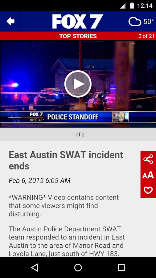 FOX 7 Austin- screenshot