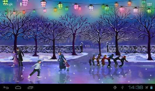 Christmas Rink Live Wallpaper Screenshot 14