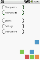 Screenshot of Touch Blocks
