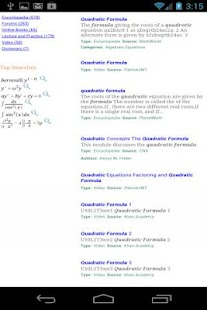 IDEAL Equation Finder - screenshot thumbnail
