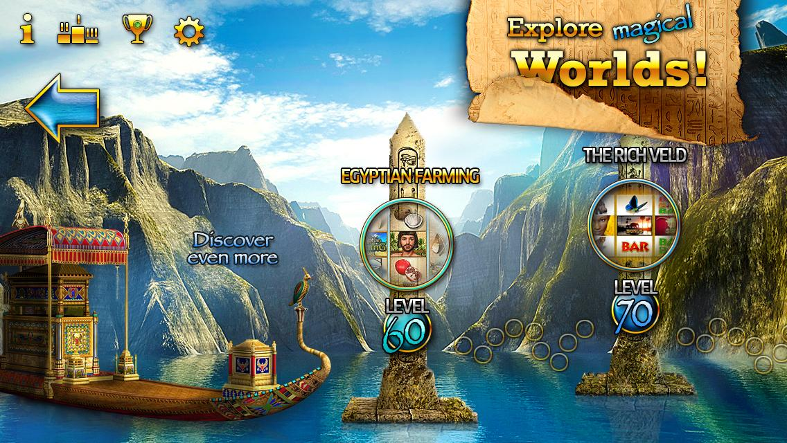 Slots - Pharaoh's Way - screenshot