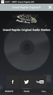 KOZY Grand Rapids MN- screenshot thumbnail