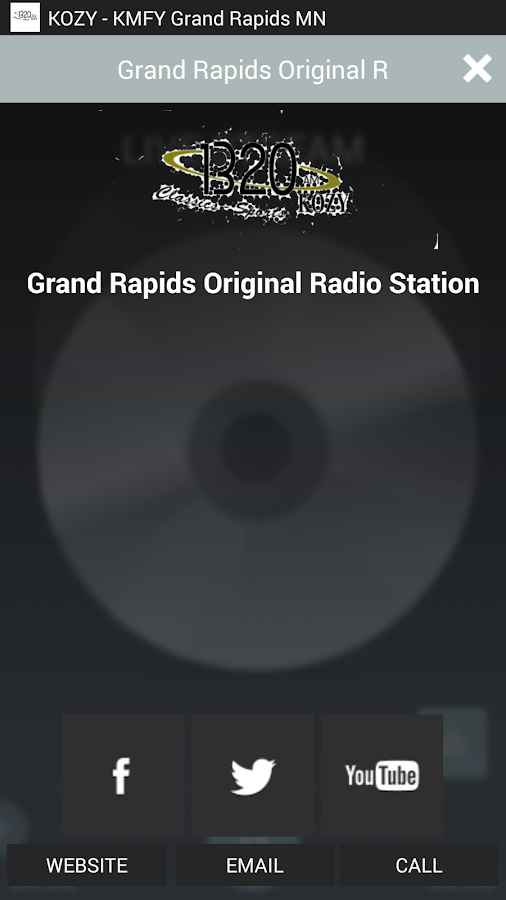KOZY Grand Rapids MN- screenshot