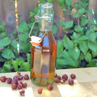 DIY Hazelnut Liqueur