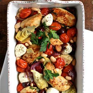 Mediterranean Baked Chicken.