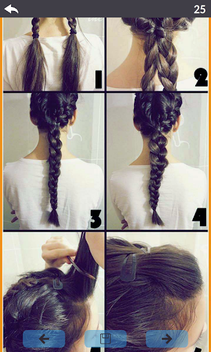 Hairstyle steps 8