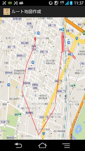 ルート地図作成|玩交通運輸App免費|玩APPs